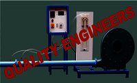 "Centrifugal Blower Test Rig"" (Variable Speed with DC Motor)"