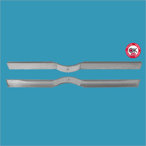 MB GPW Steel Rear Floor Riser