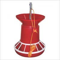 Semi Automatic Poultry Feeder