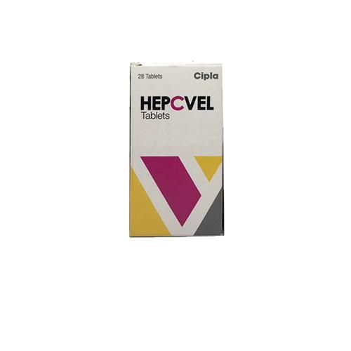 Hepcvel Velpatasvir Sofosbuvir Tablets