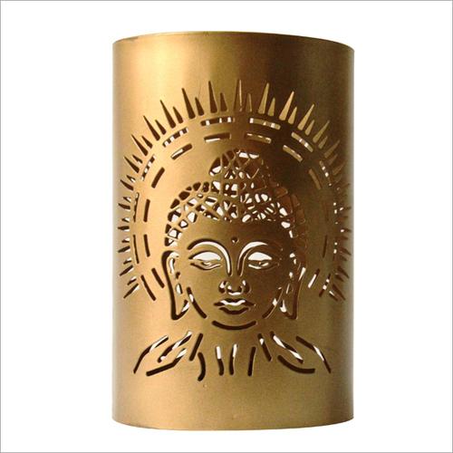 Buddha Votive Candle Holder Golden
