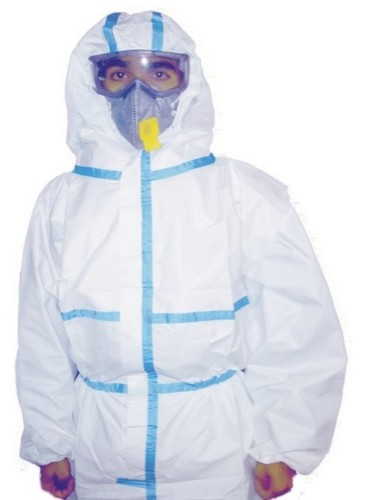 Breathable Waterproof Coverall with Tape