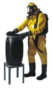 Tychem F Gas Tight Suit