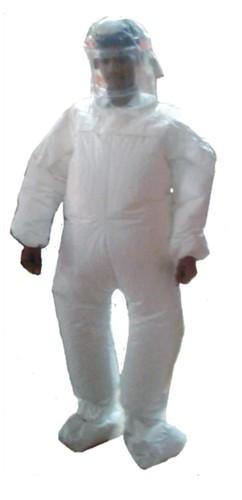 Tychem F Gas Tight Suit