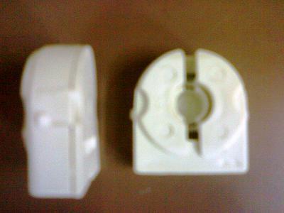 Lamp Holder Lock Type ,Snap Type Fixing T8