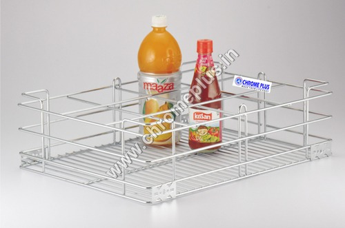 SS Bottle Kitchen Basket