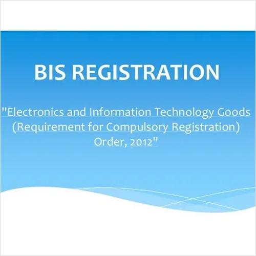 Electronic Goods Registration Scheme BIS