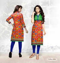 Pure Cotton Printed Kurti