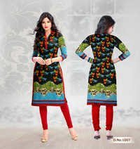 Stylish Printed Cotton Kurti