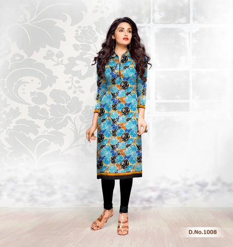 Latest Cotton Printed Kurti