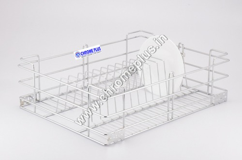SS Plate Kitchen Basket