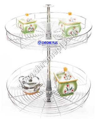 SS Full Round Kitchen Carousel