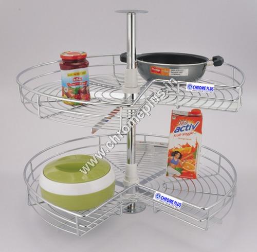 SS Modular Kitchen Carousel