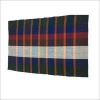 Paddle Check Handloom Cotton Rug