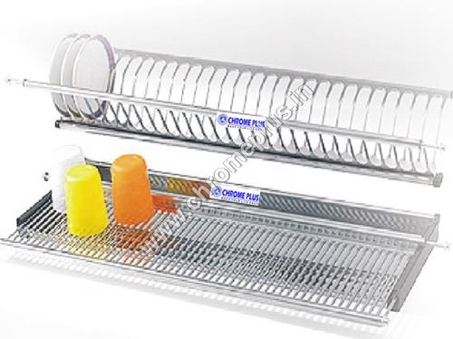 SS Dish Kitchen Rack