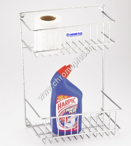 SS Detergent Holder 2 shelve