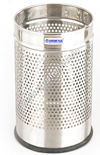 SS Perforated Dust Bin