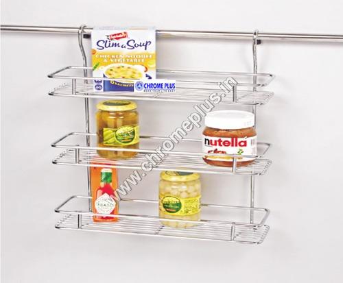 SS Hanging Multipurpose Kitchen Rack