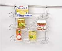 SS Hanging Multipurpose Kitchen Rack