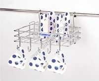 SS Modular Kitchen Hanging Cup & Saucer