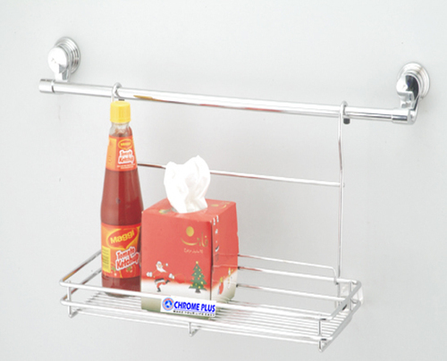 SS Single Shelf Modular Kitchen Folding