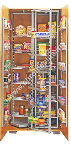 SS Kitchen Pantry Pullout