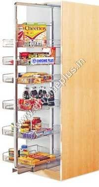 SS Modular Kitchen Tall Unit