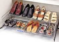 SS Shoe Rack 2 Shelves
