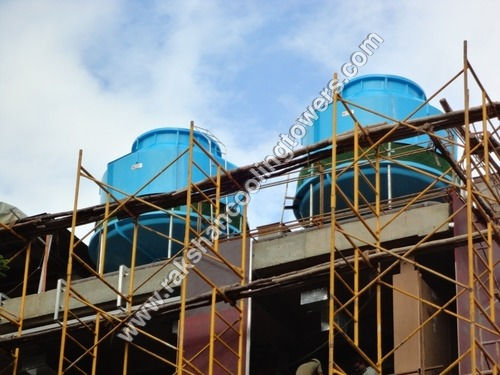 Rectangular Single Cell FRP Cooling Tower