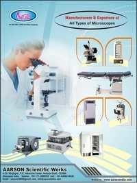 Vertical Reading Microscope