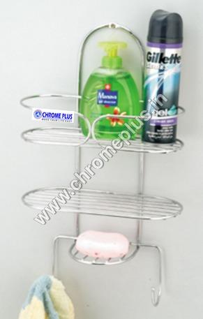 SS Bathroom Rack