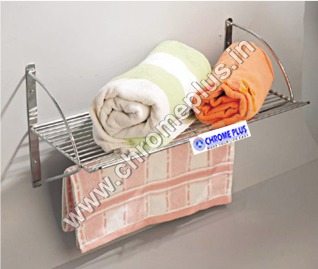 SS Single Towel Bathroom Rack