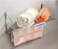 SS Single Towel Bathroom Rack