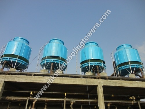 FRP Bottle Shape Induced Draft Cooling Tower