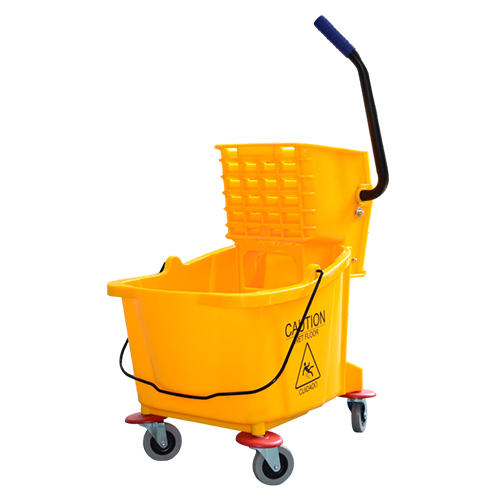 Single Bucket Wringer Trolley For Home/Hotel