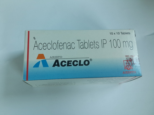 Aceclo Aceclofenac Tablets IP 100 mg