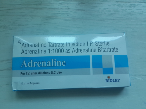 Adrenaline Adrenaline Tartrate Injection