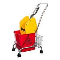 Down-press Single Mop Wringer Trolley With bucket For Home/Hotel