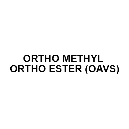 Ortho methyl ortho ester (OAVS)