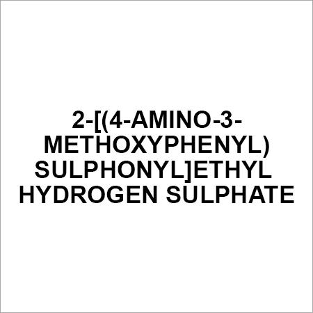 2-[(4-amino-3-methoxyphenyl)sulphonyl]ethyl hydrogen sulphate