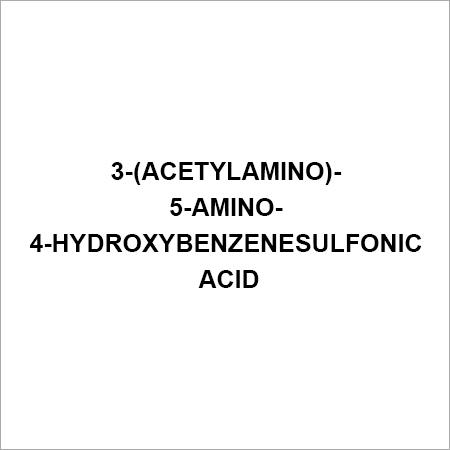 3-(ACETYLAMINO)-5-AMINO-4-HYDROXYBENZENESULFONIC ACID