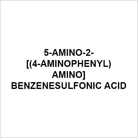 5-Amino-2-[(4-aminophenyl)amino]benzenesulfonic acid