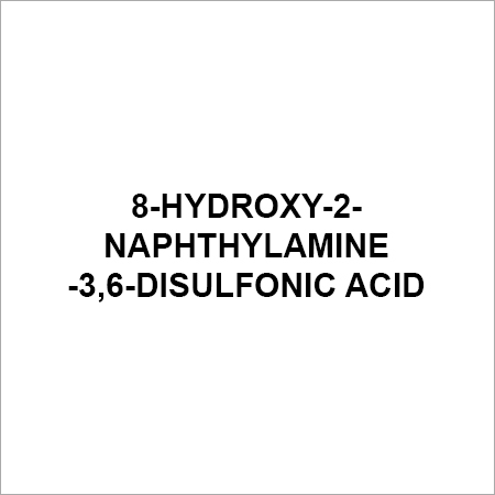 8-Hydroxy-2-naphthylamine-3,6-disulfonic acid