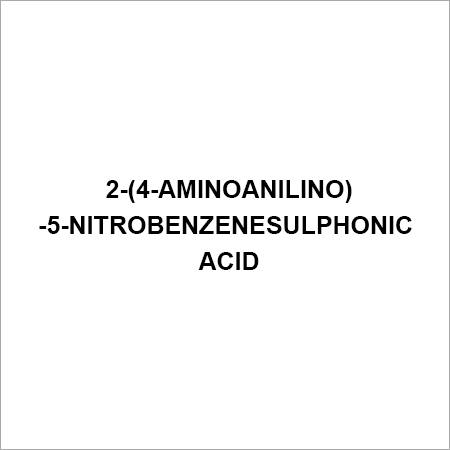 2-(4-Aminoanilino)-5-nitrobenzenesulphonic acid