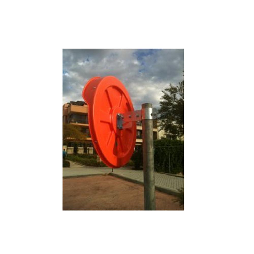 Pole for convex mirror