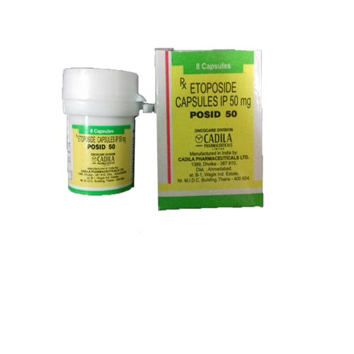 Etoposide Posid 50mg Capsules