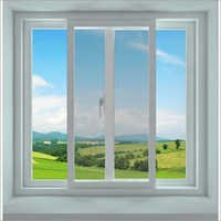 UPVC Mesh Sliding Window
