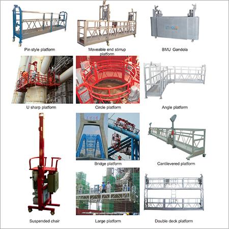 Suspended Cradle Platform