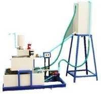 Hydraulic ram test rig (A.C motor)
