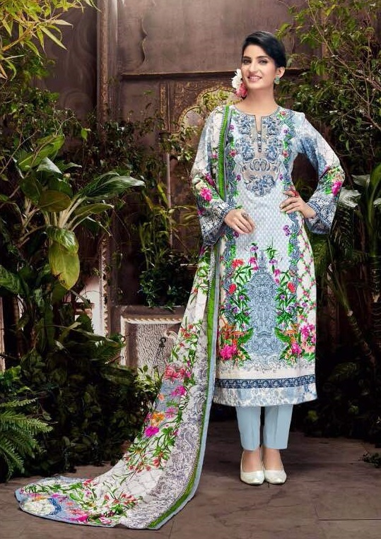 Fancy Cotton Girls Suit